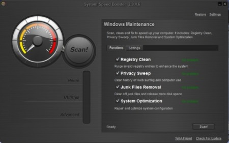 System Speed Booster 2.9.4.6 Portable