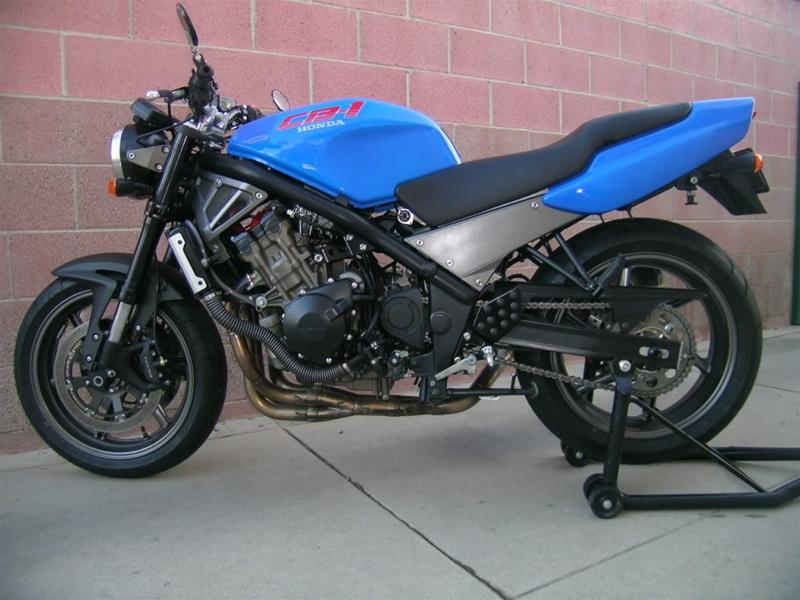 Honda CB-1.5 - заряженный мотоцикл Honda CB-1 1989