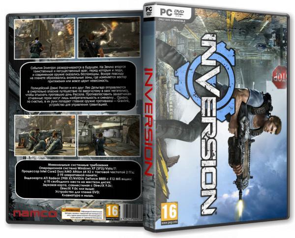Inversion (Namco Bandai Games) (RUS/ENG) [L]