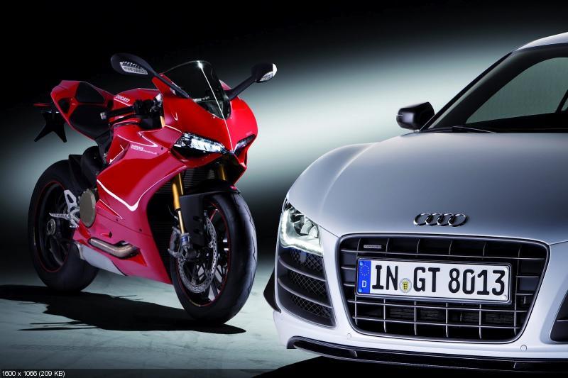 Европейский Союз одобрил покупку Ducati  компанией Audi