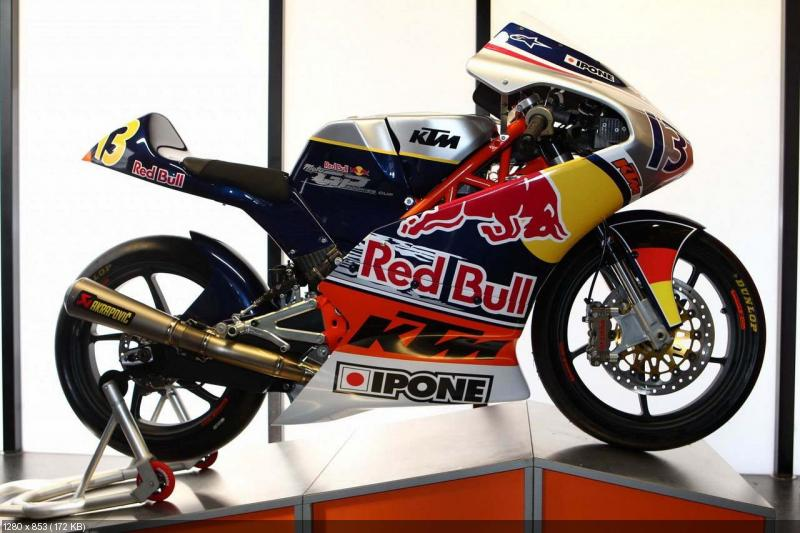 Спортбайк KTM Moto3 250 GPR 2013