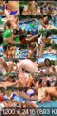 Britney Stevens, Maya Gates, Brittny Blew, Alexis Amore, Nina - BangBros Pool Party (2012/HD/720p)