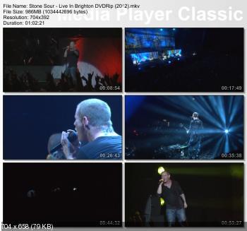Stone Sour - Live In Brighton (2012) DVDRip
