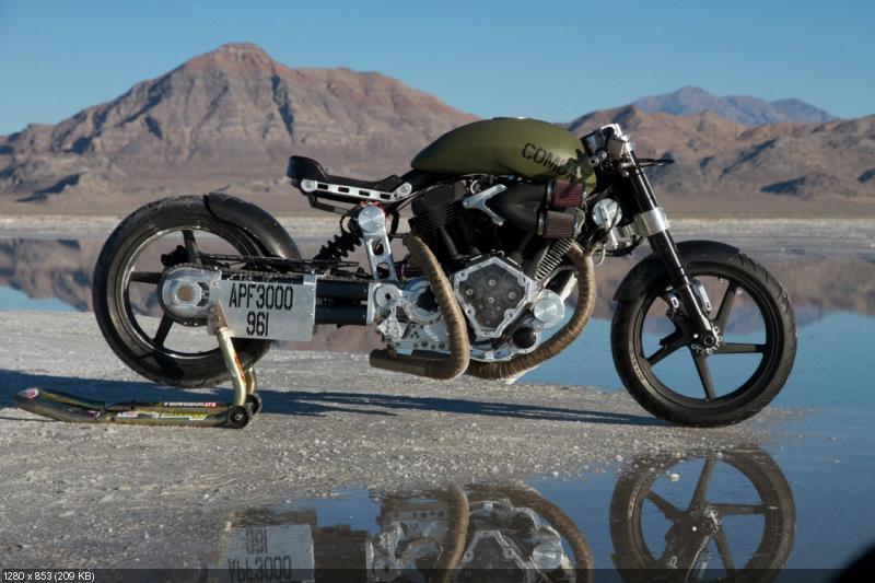Мотоцикл  Confederate X132 Hellcat Combat 2012