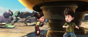 Astro Boy (2009) BDRip.XviD.AC3.PL-STF | Dubbing PL
